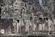 Stone labyrinths of Bayon Temple, Angkor Thom, Cambodia Faroe Islands, Angkor, Cambodia, New England, Egypt, City Photo, Temple, Photo Galleries, Asia