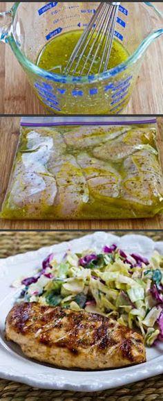 The BEST Greek Grilled Chicken.
