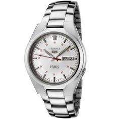 $60 Seiko Men's SNK613 Seiko 5 Automatic Silver Dial Stainless Steel Watch: Watches: Amazon.com