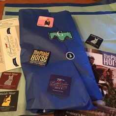 Did you know that with every Welsh Wear order you place you will receive a ton of stickers promos and even a copy of The Plaid Horse ! @gianniequimedia @theplaidhorsemag @pa_nationalhs @r4wellbeing #preppy #equestrian #corgi #ETLTIL