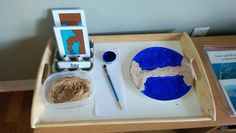 Easy DIY Land and Water Forms {Montessori Monday}