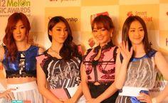 sistar kpop fashion 2012 melon music awards kwak hyun joo
