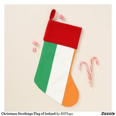 Christmas Stockings Flag of Ireland - christmas stockings merry xmas cyo family gifts presents Christmas In Ireland, Christmas In Italy, Christmas Diy, Ireland Holidays, Mexico Christmas, Italy Holidays, Mexico Flag, Santa Claus Is Coming To Town, Xmas Stockings