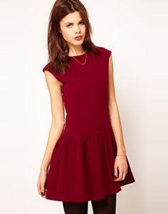 Warehouse Gathered Waist Dress