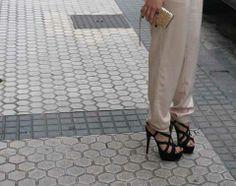 sandalias de ante negras loogo