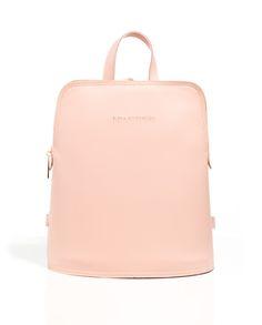 Backpack Baby Pink | ELENA ATHANASIOU BAGS