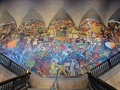 mural palacio nacional que hacer cdmx