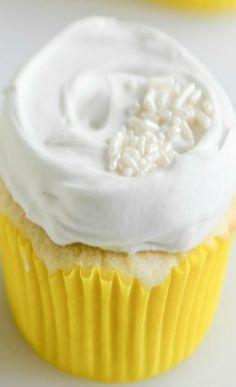 Fluffy Lemon Cupcakes