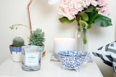 Homeware Haul! H&M, ANthropologie, Oliver Bonas, Up In Lights, TImothy Dunn, Ikea