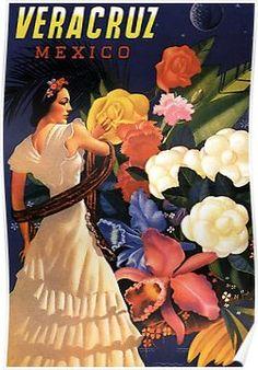 VERACRUZ MEXICO Poster