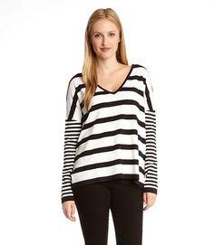 Karen Kane Starboard Stripe Pullover