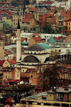 Sarajevo Mosque, Bosnia and Herzegovina Montenegro, The Places Youll Go, Places To Visit, Bósnia E Herzegovina, Sarajevo Bosnia, Adventure Is Out There, Eastern Europe, Places To Travel, Beautiful Places