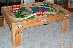 How To Build Toy Train Table or Play Activity Table in 3 Hours!