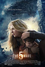 The 5th Wave- Four waves of increasingly deadly alien attacks have left most of Earth decimated. Cassie is on the run, desperately trying to save her younger brother.