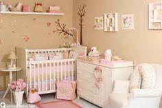 decoração de flores para quarto de bebe - Pesquisa Google