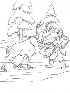 35 FREE Disney\'s Frozen Coloring Pages (Printable) / 1000+ Free ...