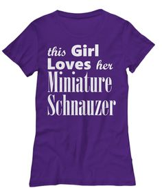 Miniature Schnauzer - Women's Tee