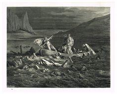 La Divine Comédie - L'enfer - illustration de Gustave Doré gravée par Monvoisin - Planche 24