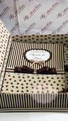 Agenda da noiva com caixa
