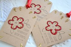 Christmas Gift Tags  Holiday Gift Tags  by ArtistsCornerShop