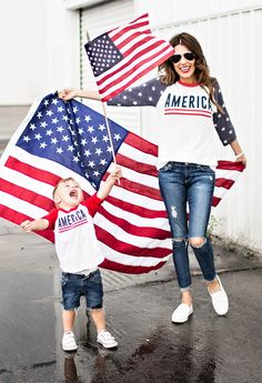 matching fourth of july outfits