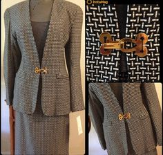 1980s Power Suit by Paul Stanley is New With Tags by BarbeeVintage, $39.00