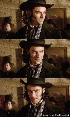 Aidan Turner as Dante Gabriel Rossetti - via https://www.facebook.com/photo.php?fbid=597426696973107&set=a.498190766896701.1073741826.498187100230401&type=1&theater