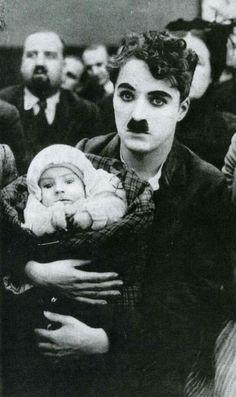 Charlie Chaplin in Easy Street.