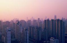 Sunset City Pink - Min Wei Photography