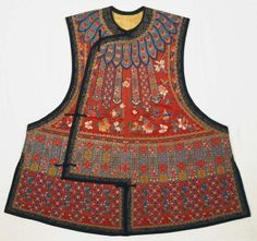 Chinese Han Woman's Vest 1875-1903.