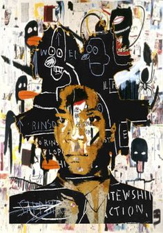 Jean-Michel Basquiat: Self-portrait Art Pop, Henri Matisse, Jm Basquiat, Basquiat Artist, Jean Michel Basquiat Art, Graffiti Kunst, Franz Kline, Willem De Kooning, Art Brut