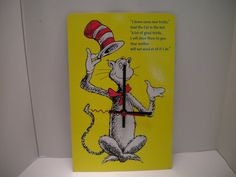 $22.00 Dr. Seuss Book Clock GREAT GIFT FOR A KIDS ROOM