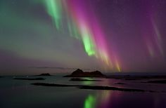 Finally we got some serious northern lights over Northern Norway, and the weather was good too. These images are from Bø in Vesterålen, January 22.