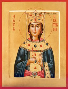 Св. великомученица Екатерина. Частное собрание.