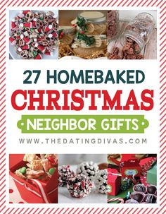MORE Quick and Easy Neighbor Gifts These look like some delicious Christmas neighbor gifts! These look like some delicious Christmas neighbor gifts! Neighbor Christmas Gifts, Christmas Food Gifts, Christmas Sweets, Neighbor Gifts, Homemade Christmas Gifts, Noel Christmas, Christmas Goodies, Christmas Baking, Xmas Gifts