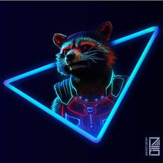 """We just wanted to give a quick shoutout to this amazing artist @aniketjatav for his Captain America art We just wanted to give a quick shoutout to this amazing artist @aniketjatav for his Rocket Raccoon (my personal favorite guardian) artwork and the whole line of """"NEON AVENGERS"""" pictures. : Click on the link in our bio to go browse our selection of fan related merchandise.  : We will strive to bring you quality Merchandise for all of your favorite franchises.  : Please don't hesitate to DM…"""
