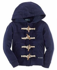 Ralph Lauren Little Boys' Oxford Toggle Hoodie... hoping this will go down in price a bit more for the fall/winter 2014
