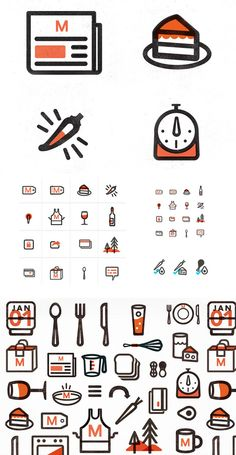 Icons / New Logo and Identity for Munchery done In house