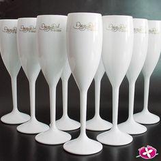 Brindes Personalizados Taça de Champanhe em Acrílico Personalizada Chinelos - Taças - Copos - Canecas - Kits
