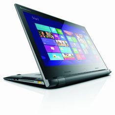 Lenovo Flex 15 15.6-inch Touchscreen Laptop - Black/Silver (Intel Core i5-4200U 1.6 GHz