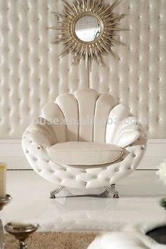 Source 2018 new classic furniture luxury Italian white fabric sofa sets on… - LUXURY FURNITURE Living Furniture, Home Decor Furniture, Living Room Sofa, Sofa Furniture, Furniture Design, Furniture Ideas, Wooden Furniture, Industrial Furniture, Furniture Makeover
