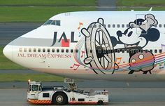 Walt Disney B747 Japan Airlines