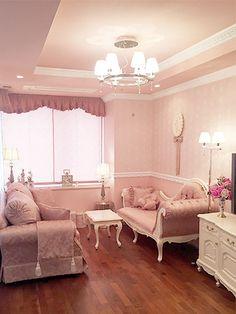 Living Room Decor, Bedroom Decor, Room Interior, Interior Design, Aesthetic Room Decor, Girl Bedroom Designs, Pink Room, Dream Apartment, Dream Rooms
