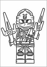 Malebog. Tegninger Lego Ninjago1