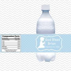 Free Water Bottle Label Template Create Your Own Water Bottle - Free personalized water bottle labels template