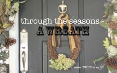 Thru the seasons-a w