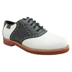 Bass Women's Oxford Shoes | Black and White Saddle Oxfords