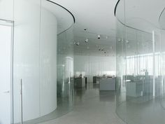 Images of the Toledo Glass Pavilion, Toledo Museum of Art, by SANAA : Kazuyo Sejima and Ryue Nishizawa