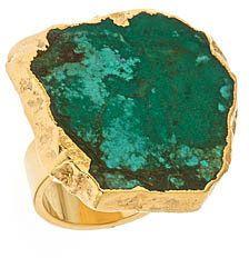 ShopStyle: Mali Sabatasso Green Turquoise Ring