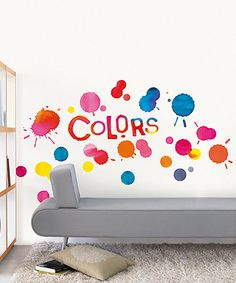 Take a look at this 'Colors' Spot Wall Decal Set on zulily today!